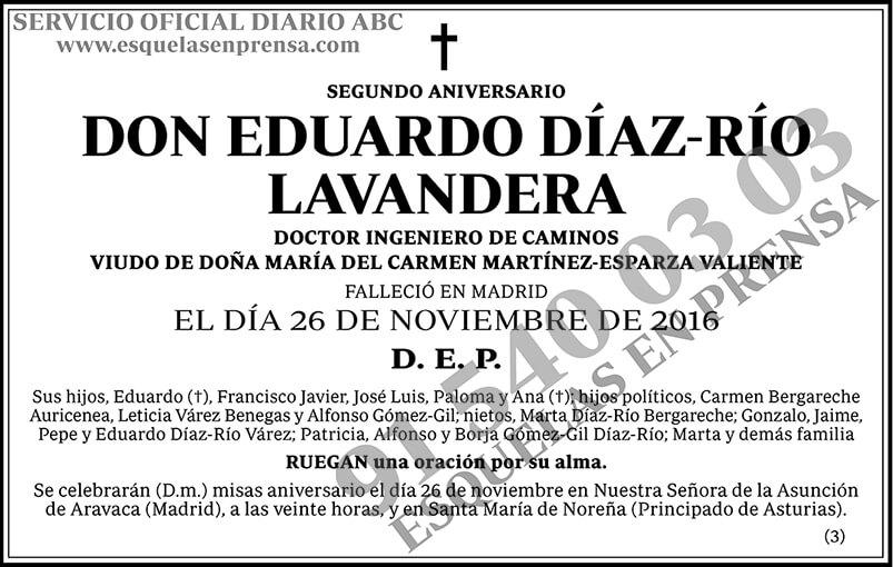 Eduardo Díaz-Río Lavandera